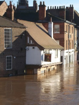 Flooding at the King's arm